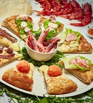Pizza gourmet allo Stockholm